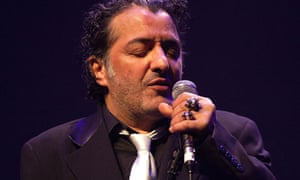 Rachid Taha at the Barbican in 2013