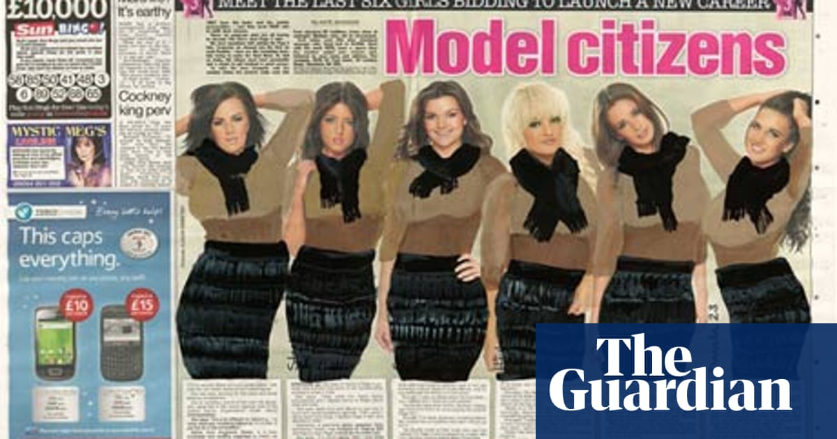 The Sun's Page 3 models get dressed | Media | The Guardian
