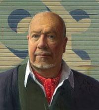 Jeffrey Smart's 1993 self-portrait