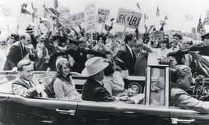 Scene from Jim Goddard's TV drama Kennedy