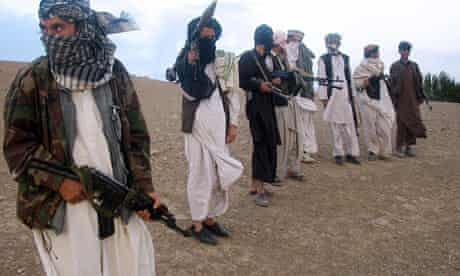 Taliban members in Afghanistan