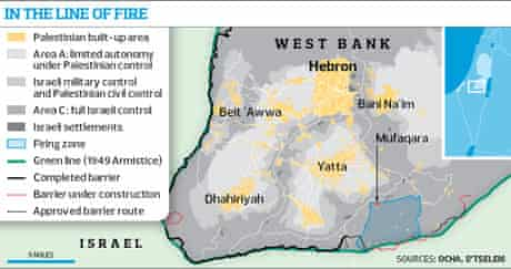 West Bank graphic