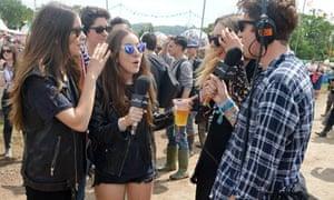 Celebrities Attend Glastonbury Festival 2013