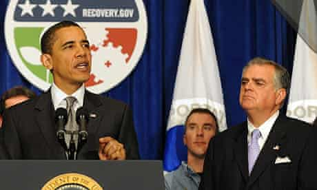 Barack Obama and Ray LaHood