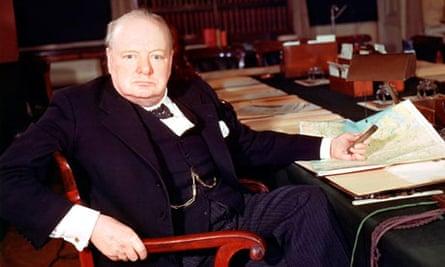 Winston Churchill, 1945