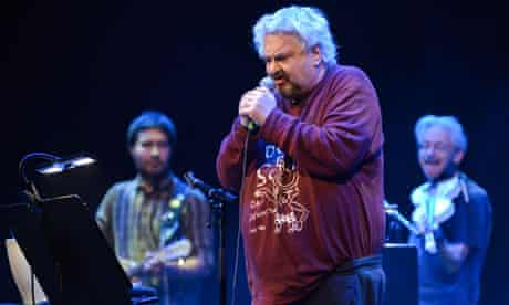 Daniel Johnston onstage at the Barbican, London