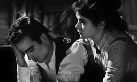 Dean Stockwell and Heather Sears in the 1960 film version of Sons and Lovers.