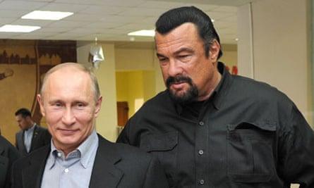 Vladimir Putin, Steven Seagal