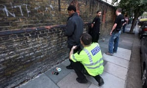 Police stop and search