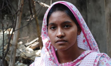 Shima, 25, who survived the collapse but her best friend was killed