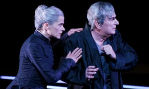 Karin Giegerich (Cosima) and Gerhard Brössner (Wagner) in Wagner Dream