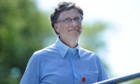 Bill Gates in London