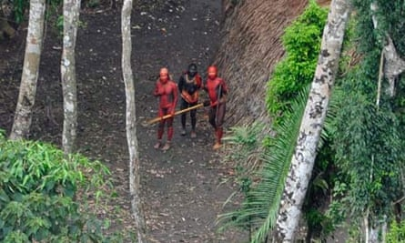Uncontacted tribes
