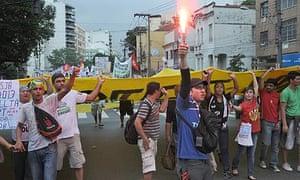 Protests in Brazil - 30 Jun 2013