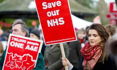 Save Lewisham hospital campaign