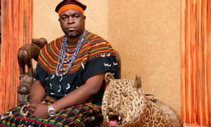 Widows in Cameroon: Fuekemshi II, the king of Baba1