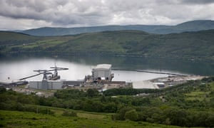 Trident base in Faslane