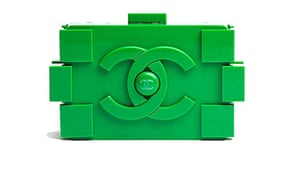 The Chanel Lego clutch bag