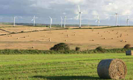 Wind farms usually have to be in remote locations