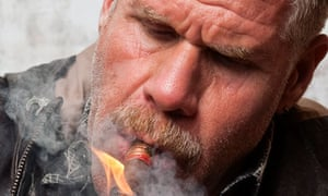Ron Perlman … 'I'm finally getting to traffic in my own face'