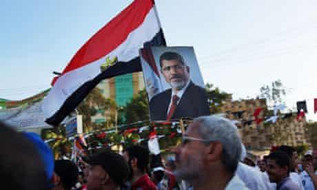 Supporters of ousted Egyptian president Mohamed Morsi