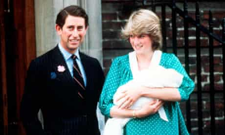 Prince William leaves hospital as a baby