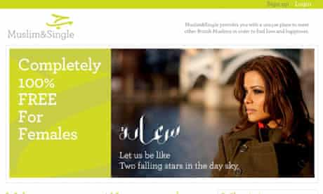 MuslimandSingle.com … one of many sites catering for young Muslims looking for a partner.