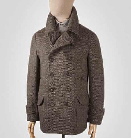 Seh Kelly 2 Brown Wool Twee British Peacoat