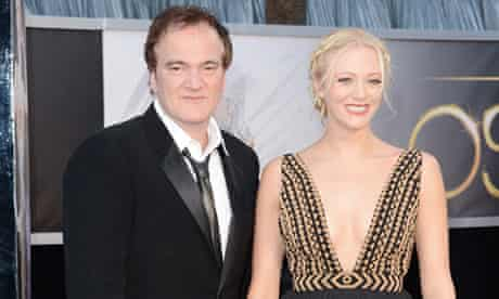 Lianne Spiderbaby and Quentin Tarantino