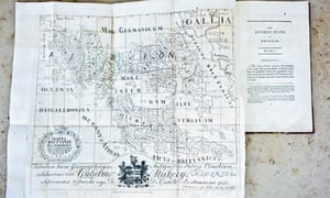 Roman map of Britain, a hoax by Charles Bertram