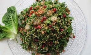 Felicity Cloake's perfect tabbouleh on a plate