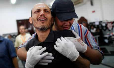 Cairo massacre field hospital