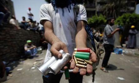 Cairo massacre bullets