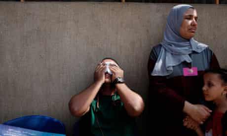 Cairo masscre crying