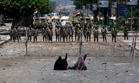Cairo massacre women and children