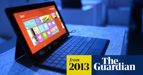 Microsoft takes $900m charge on Surface RT tablets