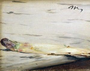 Asparagus, by Edouard Manet.