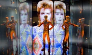David Bowie's Starman costume at the V&A