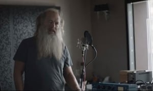 Rick Rubin in the promo clip for Magna Carta Holy Grail