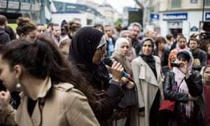 Women protest in Paris