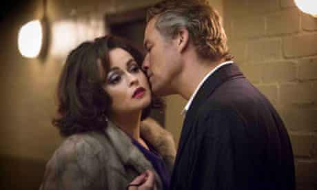 Helena Bonham Carter and Dominc West in Burton and Taylor