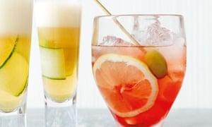 cynar gin fizz and aperol spritz