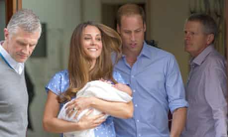 Duke and Duchess Cambridge royal baby