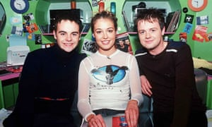 Cat Deeley with Ant and Dec