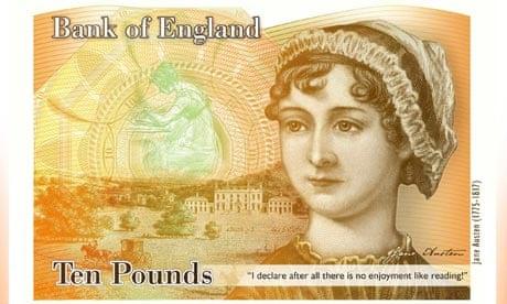 New plastic £10 note featuring Jane Austen unveiled British--10-banknote-show-010