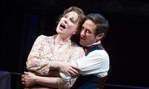 Tamsin Carroll and Christopher Fitzgerald in Barnum
