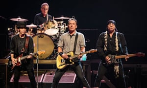 Bruce Springsteen and the E Street Band in concert at Leeds