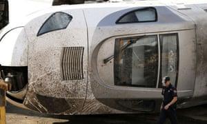 Spanish train crash driver cab