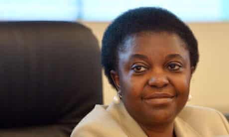 Integration minister Cecile Kyenge