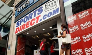 Sports Direct store on Oxford Street, London